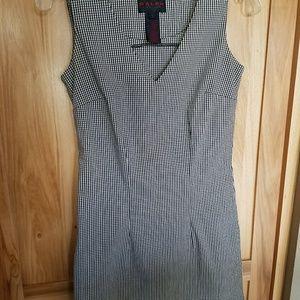 RALPH LAUREN S CHECKED DRESS